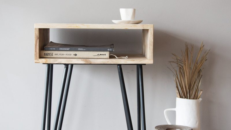 Hairpin Bedside Table – An Overview