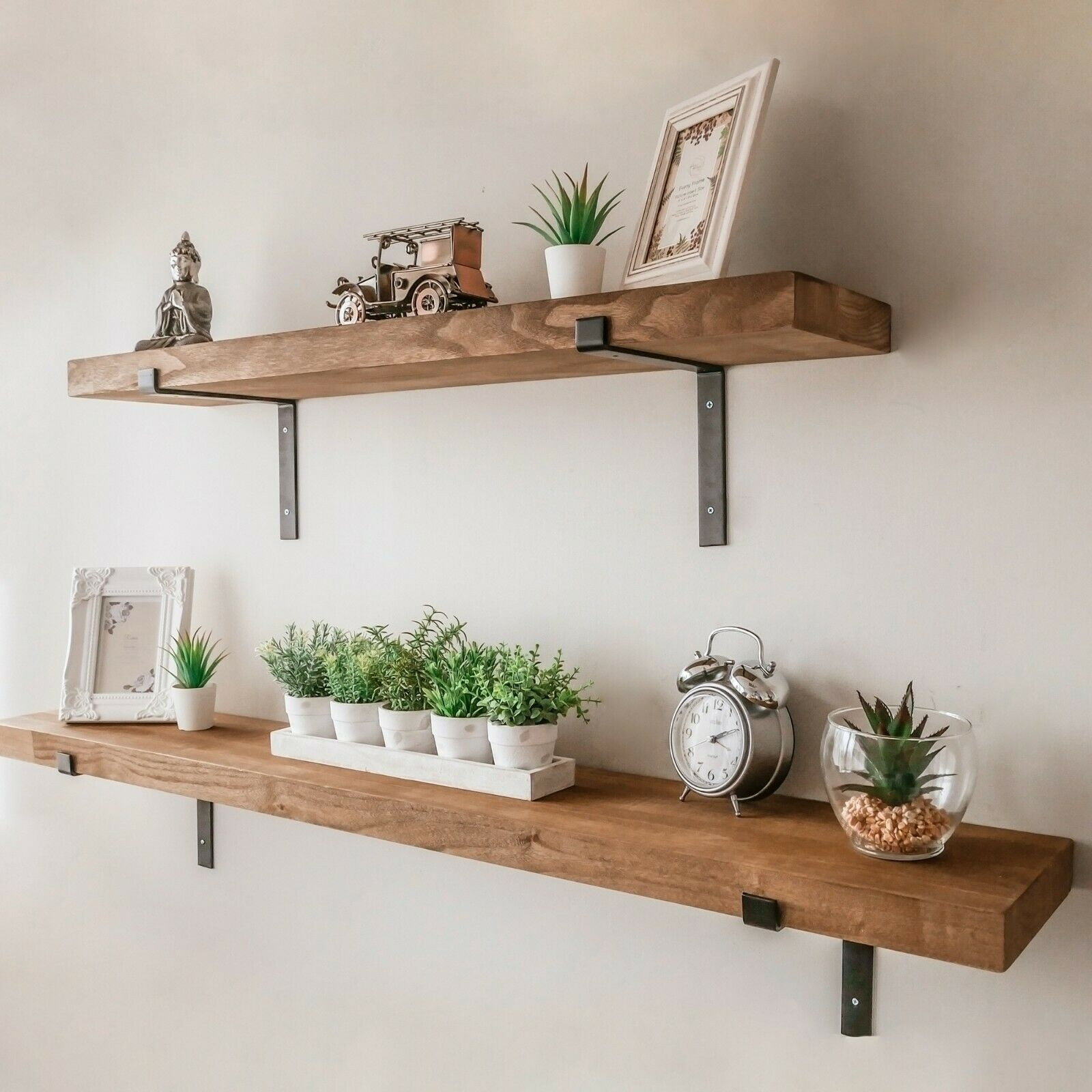 Rustic OAK Floating Shelves – Identify The Truth About Them