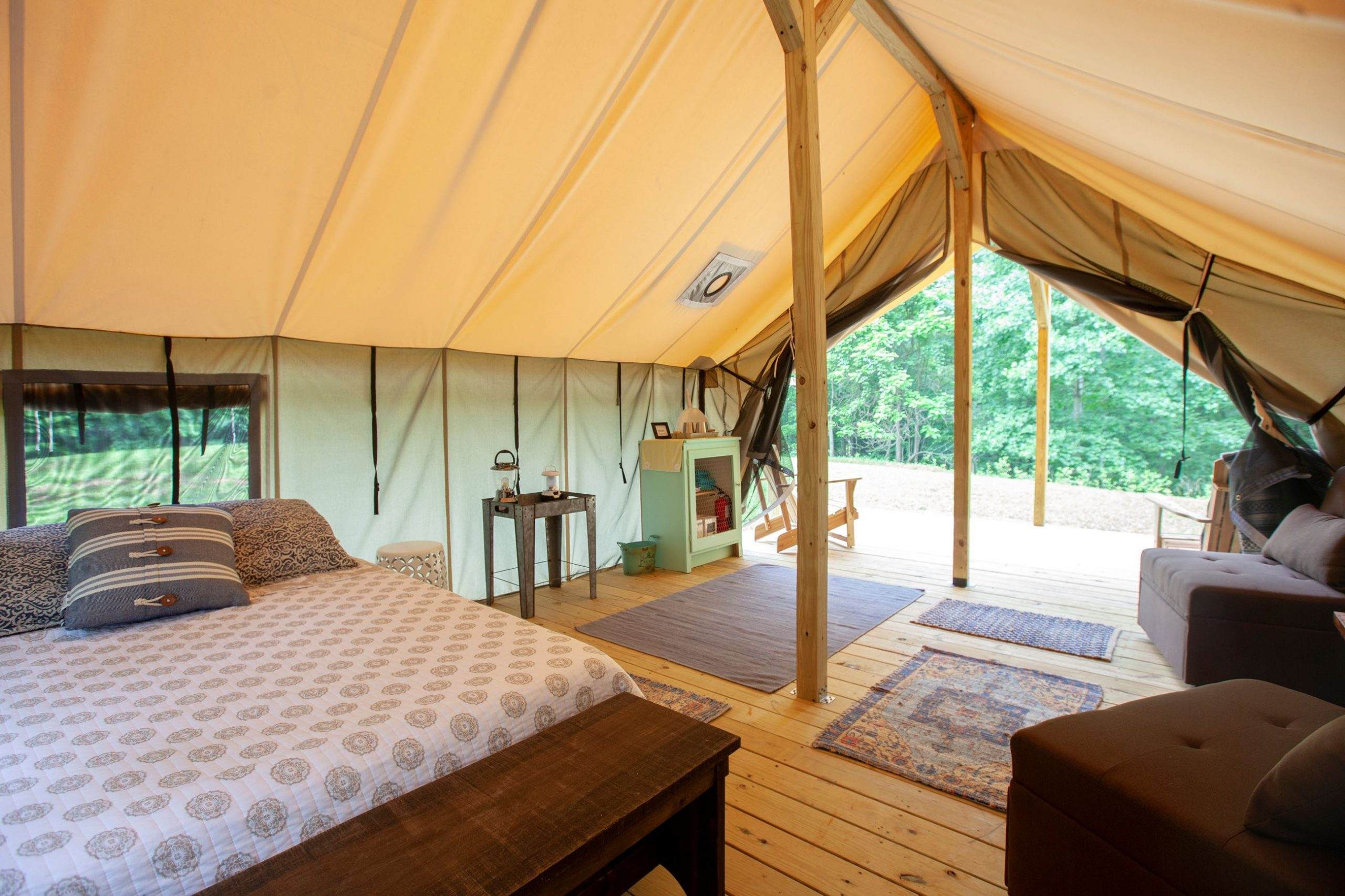 User Guide On Large Canvas Tent