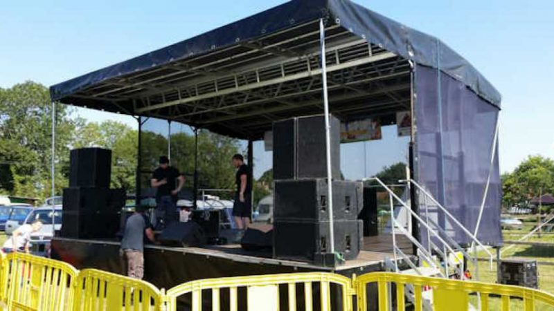 Great Things About Mobile Stage Hire