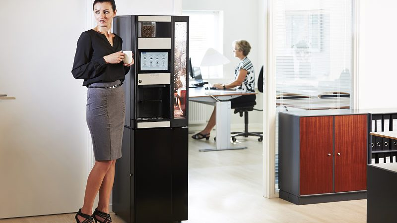 A Glimpse At Vending Machine for Office Use